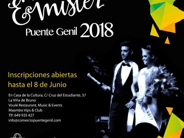 Concurso Miss y Mister Puente Genil 2018