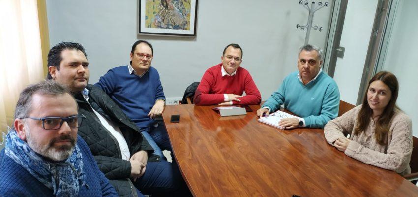 Reunión con el concejal de Desarrollo económico