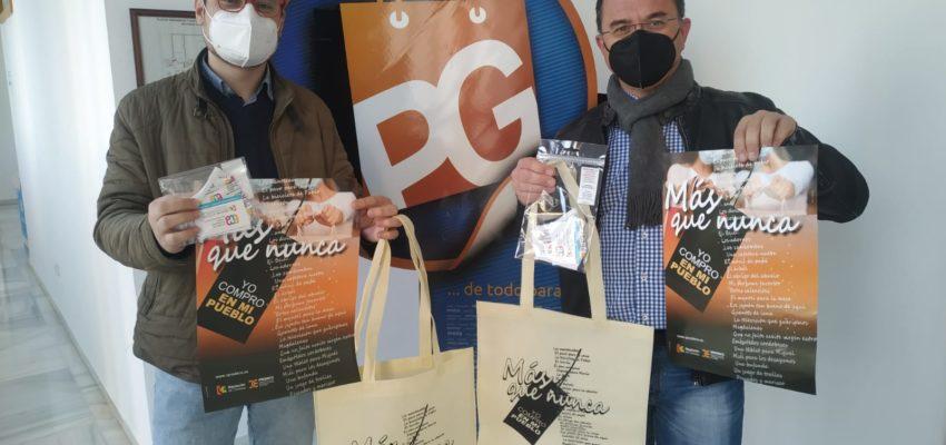 Dos campañas de Diputación impulsan la compra en el comercio local y el consumo responsable