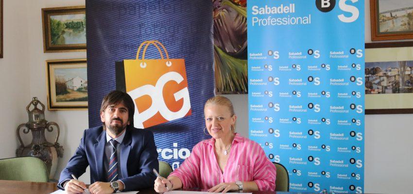 Firma de convenio con Sabadell