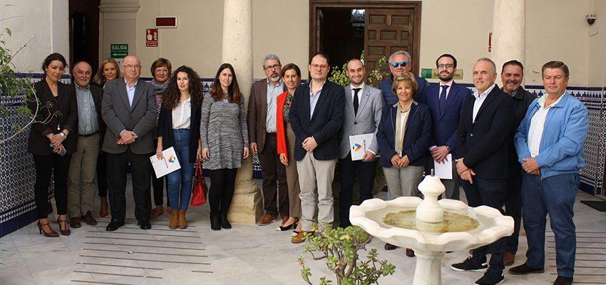Reunión Directora General y Delegado territorial de comercio